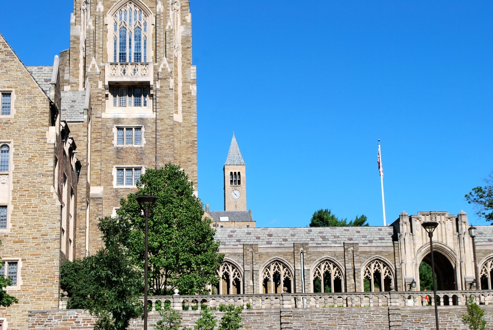 Did you know I went to Cornell? (2/5)