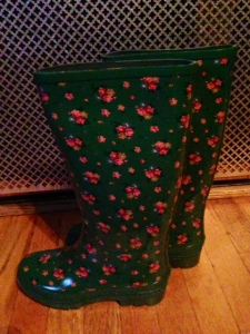 bought these last month in Ireland - hasn't rained since.