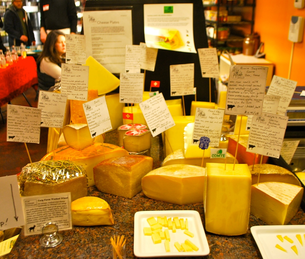 Schooled in cheese. (1/3)