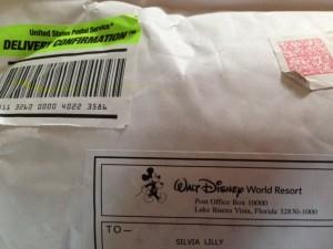 Thanks, Disney World!